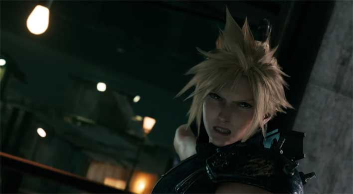 New Final Fantasy 7 Remake Trailer Shows Turks, Summons, and Squatting