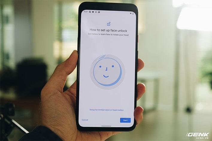 Pixel 4 XL Face Unlock