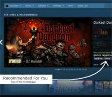 Steam's Discovery Update Tunes Recommendation Algo To Buck Sharp Decline In Game Sales