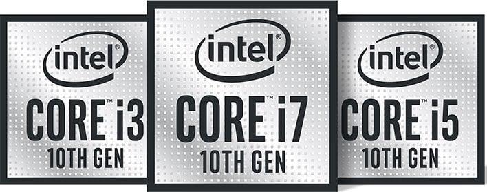 Intel 10th gen badges