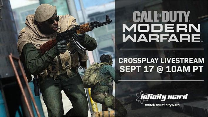 Call of Duty: Modern Warfare Livestream