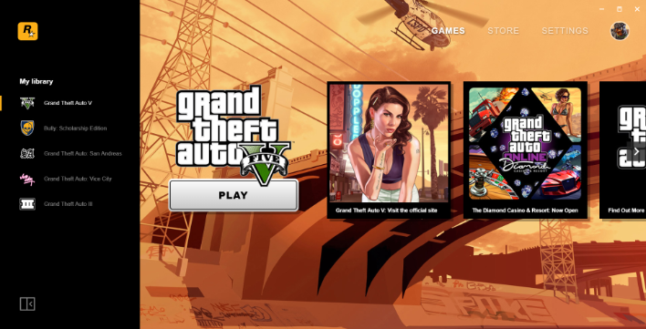 Even Rockstar has its own game launcher now
