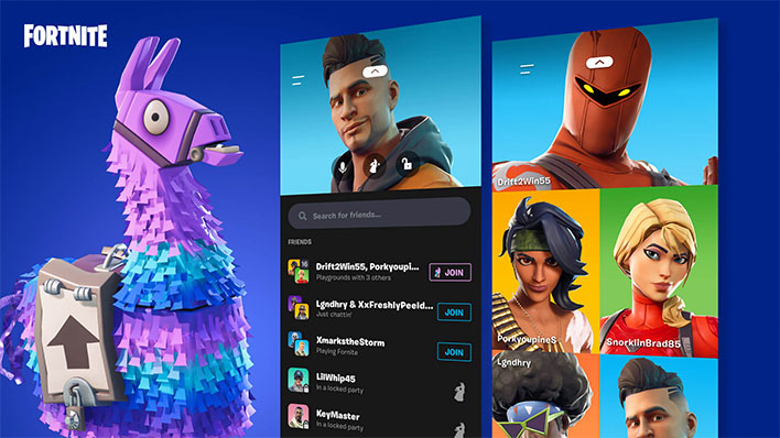 Fortnite Party Hub