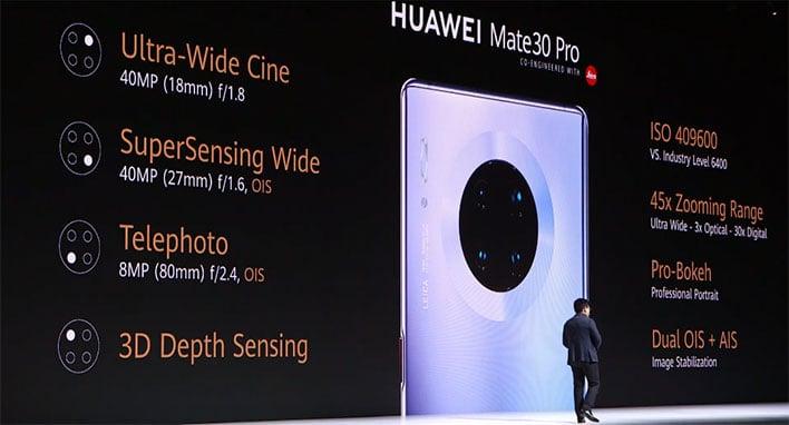 Huawei Mate 30 Pro Camera