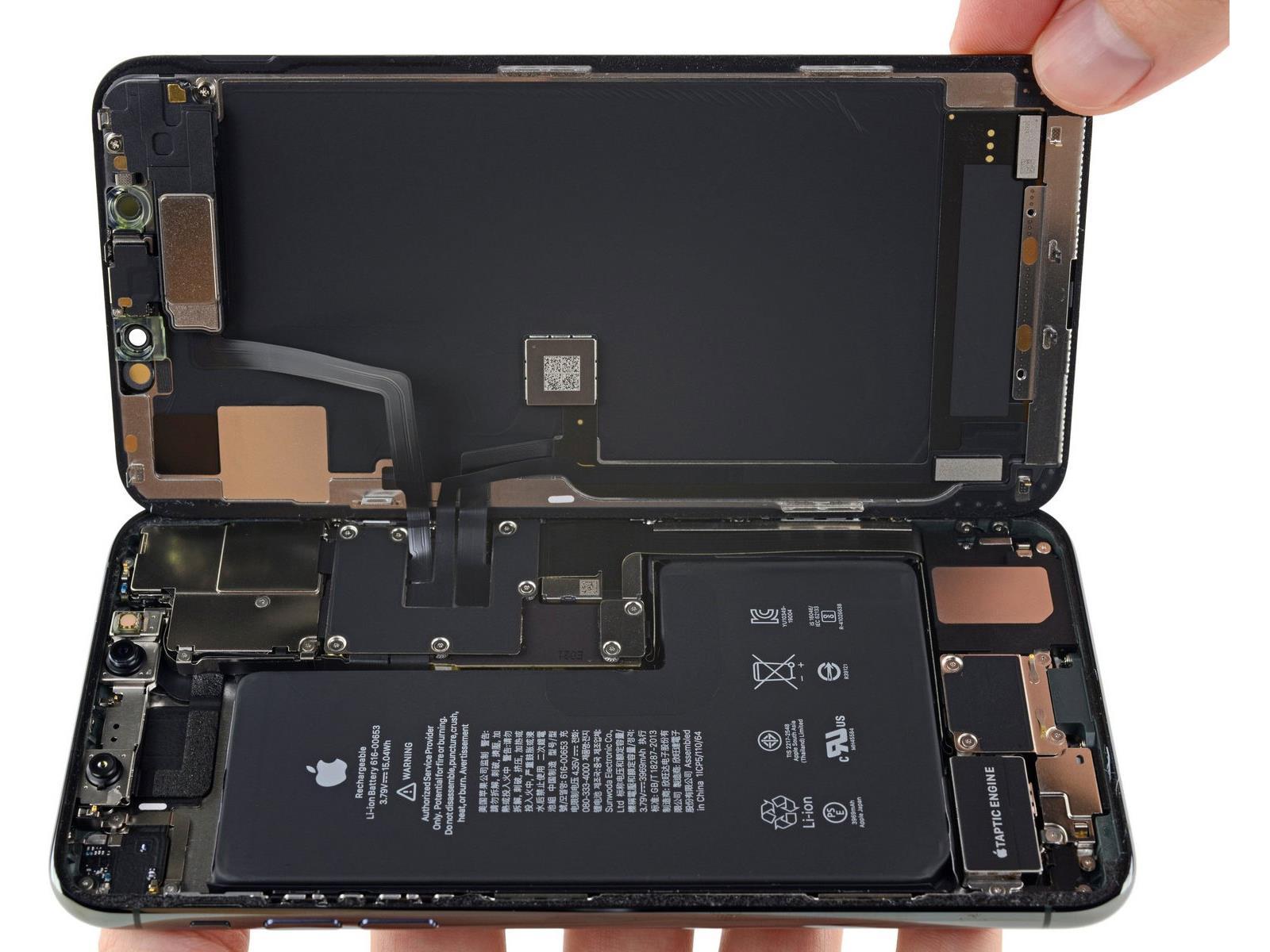 Iphone 11 Pro Max Teardown Revives Rumors Of 2 Way Wireless Charging Decent Repairability Hothardware