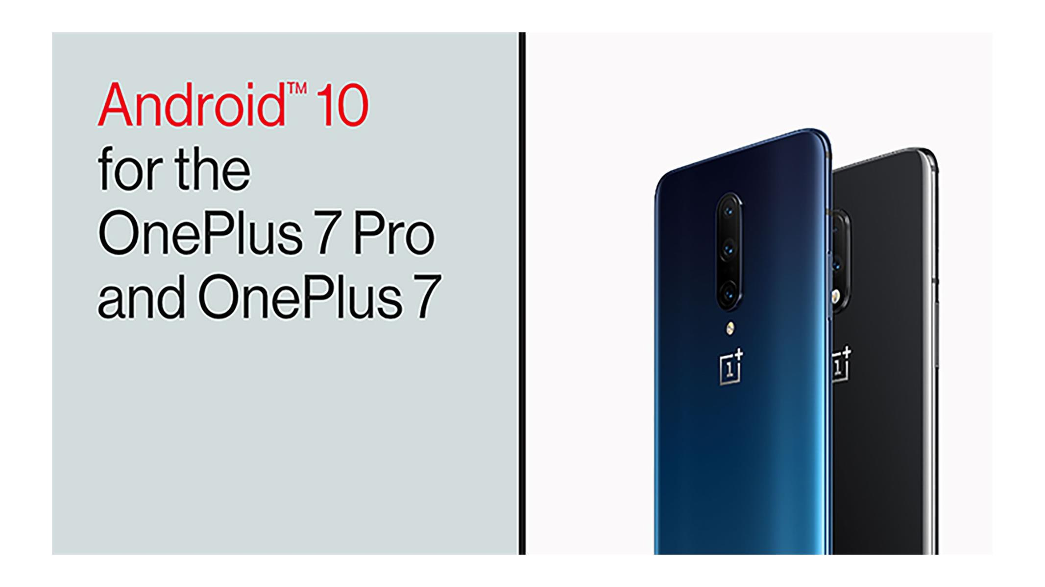 Android 10 Arrives For And OnePlus 7 And OnePlus 7 Pro, Check Update Now