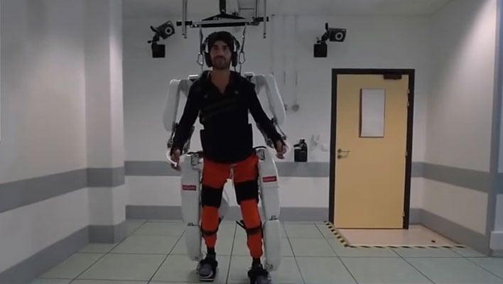 Clinatec Exoskeleton