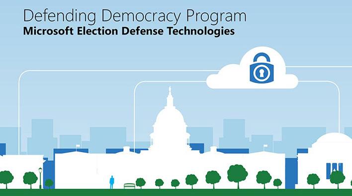 microsoft defending democracy