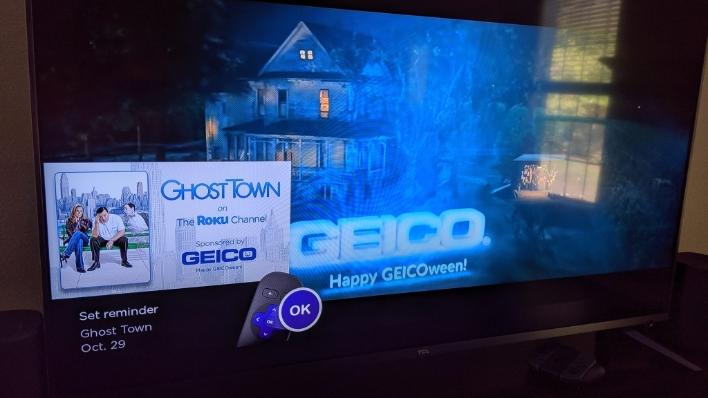 roku tv ghost town
