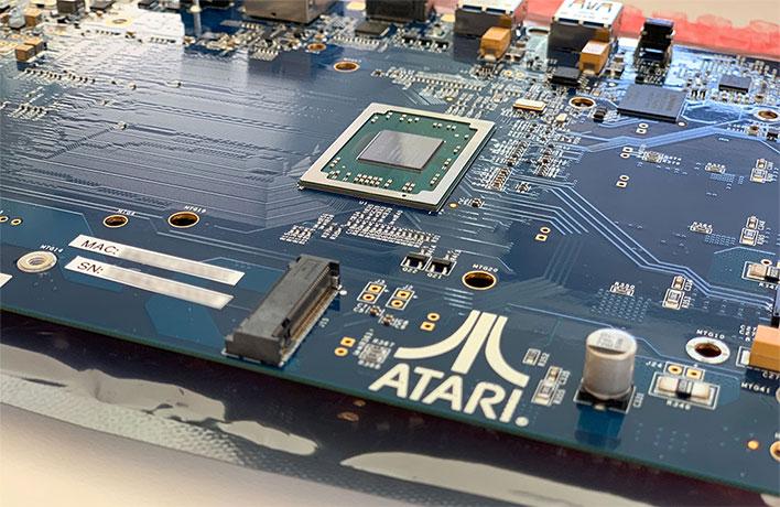 Atari VCS Pre-Production Board Closeup
