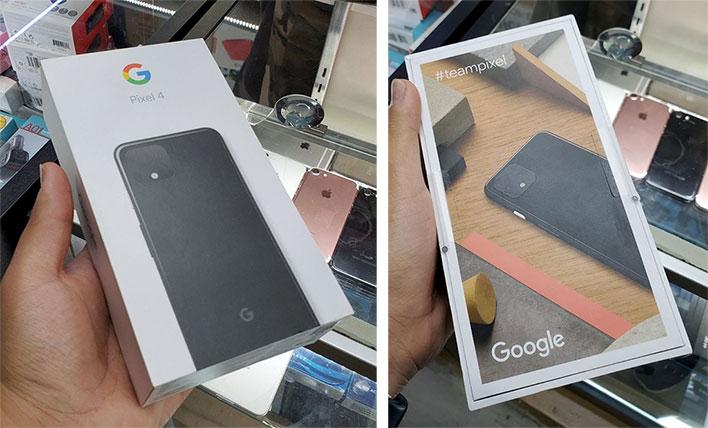 Google Pixel 4 Retail Box