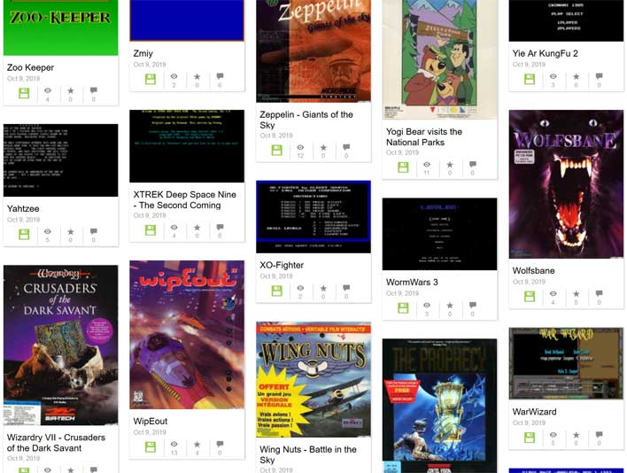 ms dos games