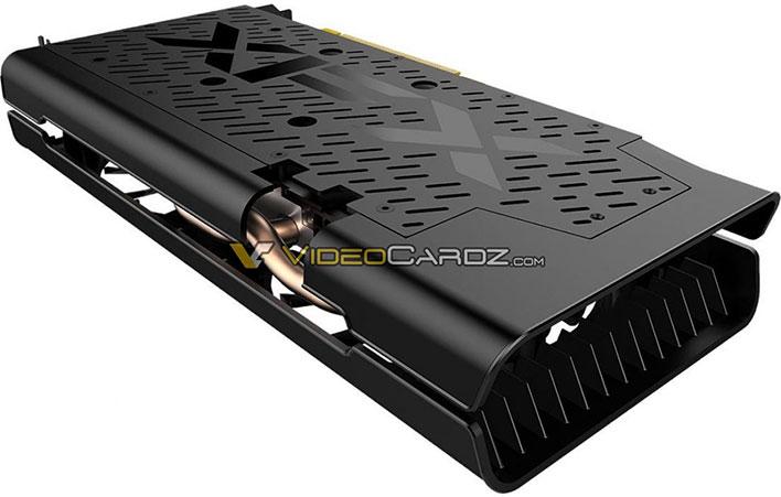 XFX Radeon RX 5500 THICC II Back