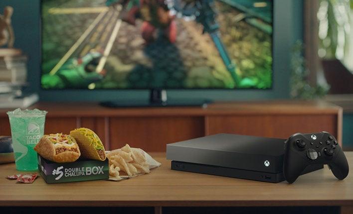 Xbox One X Eclipse Taco Bell Bundle