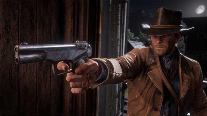 rdr2 new gun