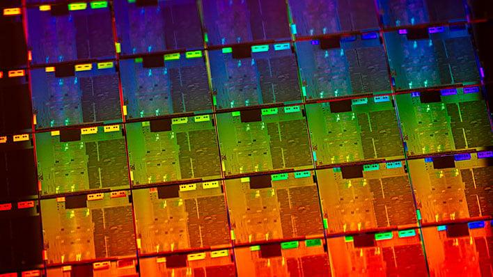 Intel 10th Gen Wafer