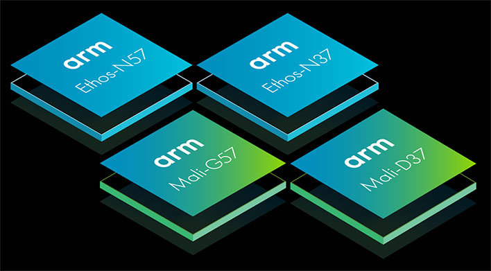 ARM Mali and Ethos Chips