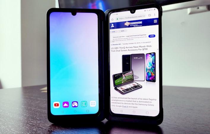 lg g8x thinq screen dual screens