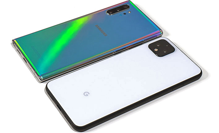 google pixel 4 xl vs samsung galaxy note 10 camera shoot out