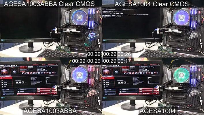 AGESA 1.0.0.4 Boot Comparison