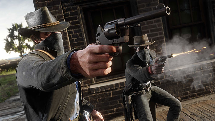 Red Dead Redemption 2 Guns