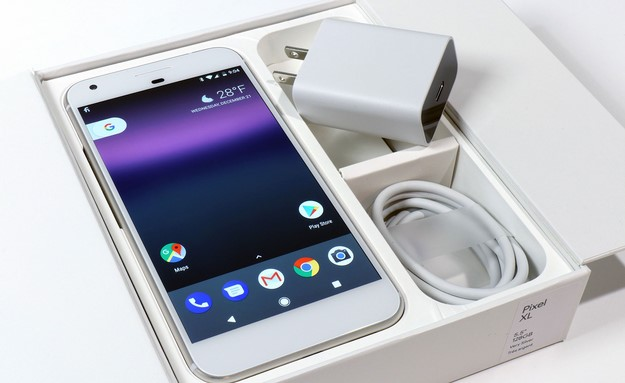 Pixel XL Phone and Charge