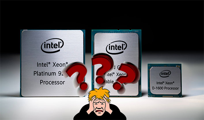 Intel Xeon Platinum 9200 Question Mark