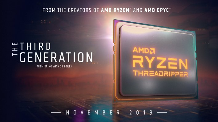 AMD Announces Ryzen Threadripper 3960X, 3970X and Ryzen 9 3950X