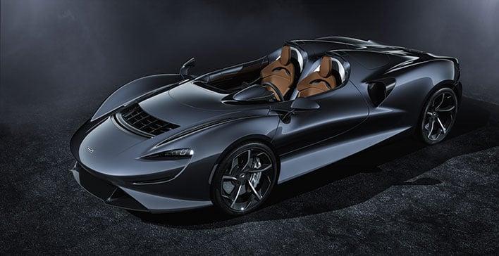 McLaren Elva Angled
