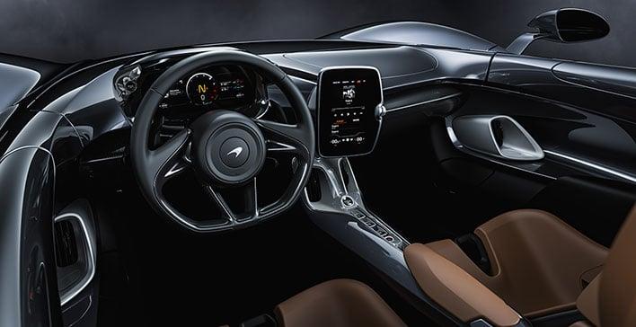 McLaren Elva Cockpit