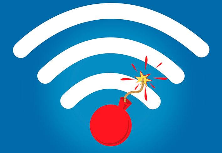 Wi-Fi Bomb