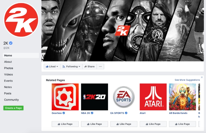 The Official WWE 2K Facebook Page Gets Hacked - Details