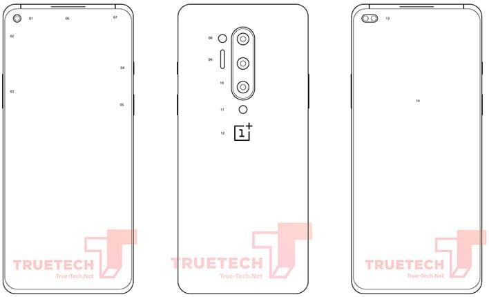 OnePlus 8 Pro Diagram