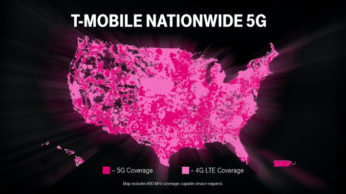T Mobile+Nationwide+5G+Map