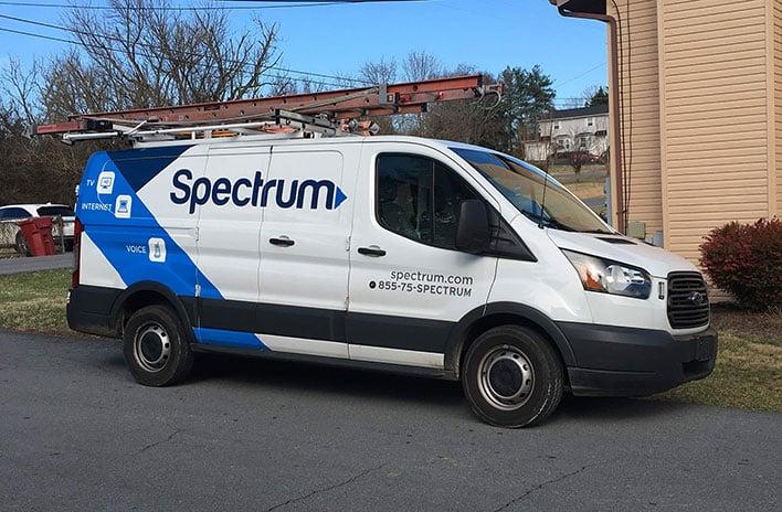 Charter Spectrum Van