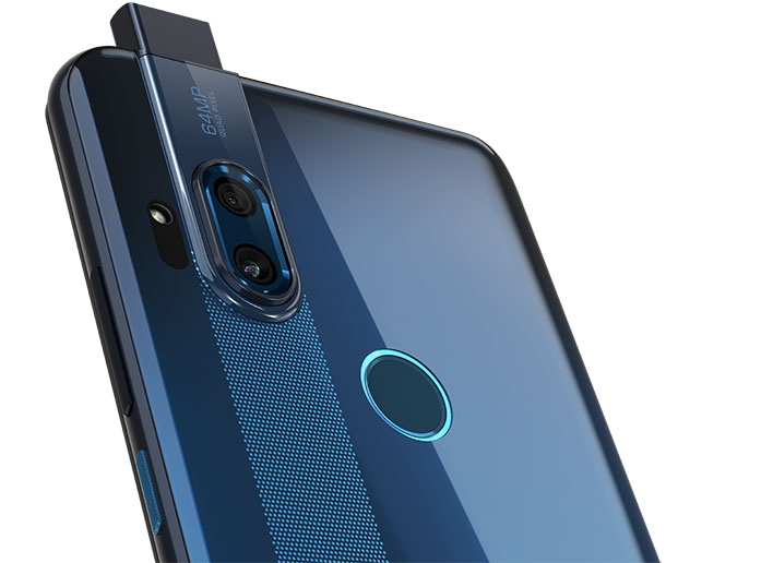 motorola one hyper selfie camera