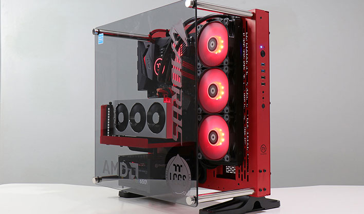 AMD GB TT rig front