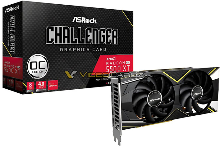 ASRock Challenger Radeon RX 5500 XT