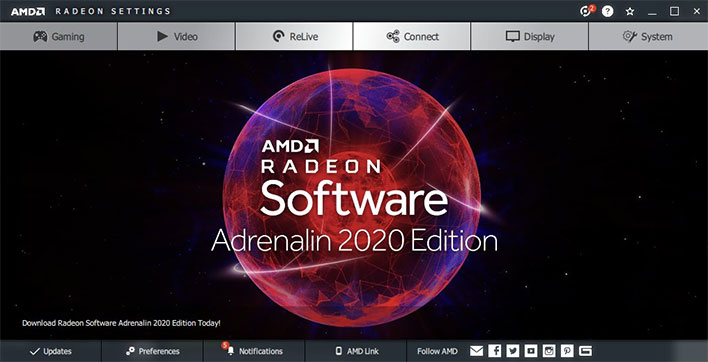 AMD Radeon Software Adrenalin Edition 2020