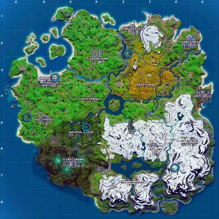Fortnite IceBox Locations