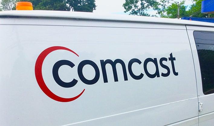 Comcast Van