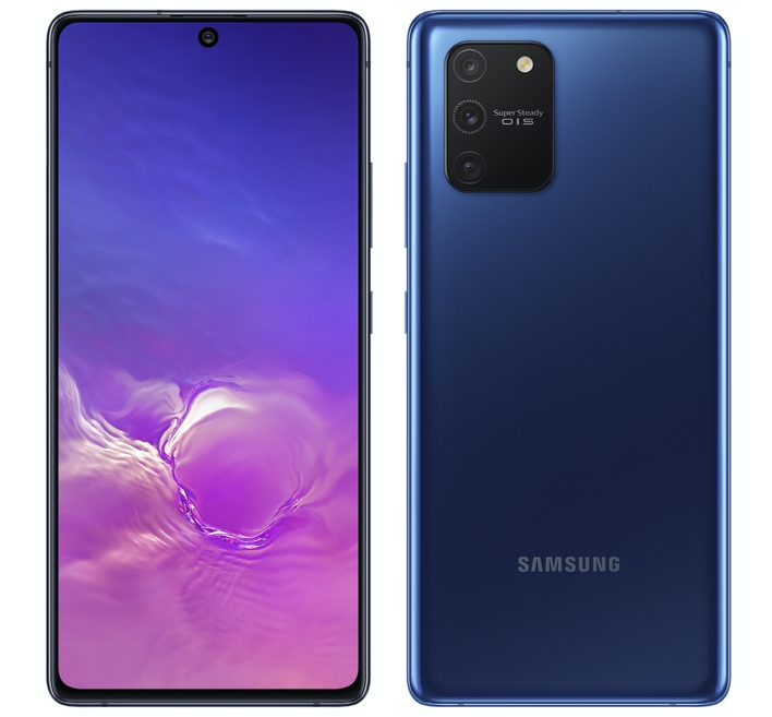 GalaxyS10Lite Front PrismBlackF
