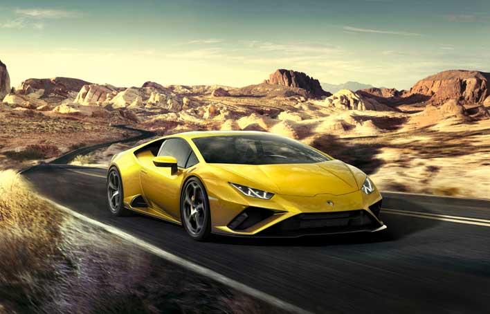 Lamborghini Huracan Evo Rear-Wheel Drive Breaks Cover