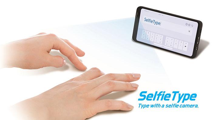 samsung c lab inside selfietype