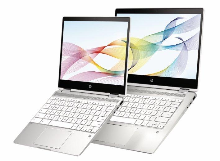 HP Chromebook x360 14b NaturalSilver Ceramic 2