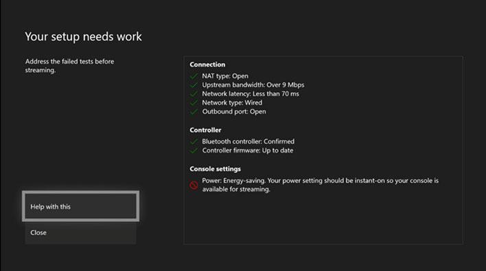 Xbox Game Streaming Setup