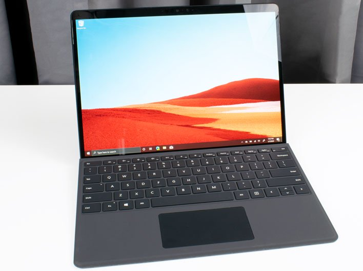 frontal 2 surface pro x