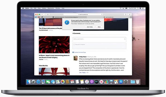 MacBook Pro Safari Browser