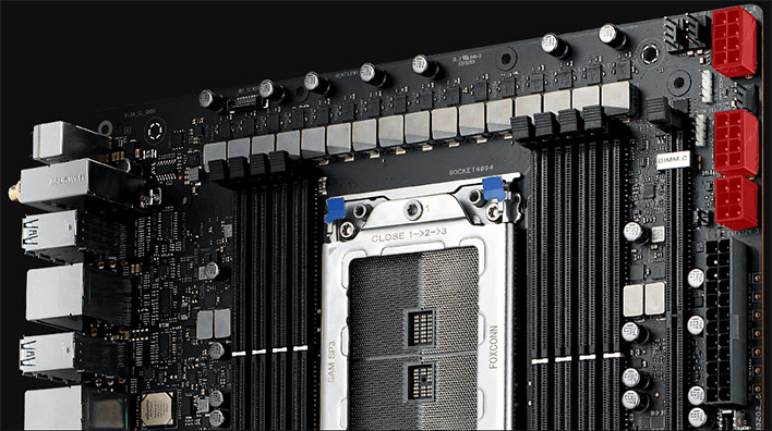 ASUS ROG Zenith II Extreme Alpha Motherboard Power Connectors