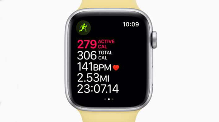 apple watch workout tracking